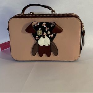 Kate Spade Floral Pup Small Crossbody